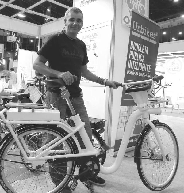 La bici urbana con cabeza