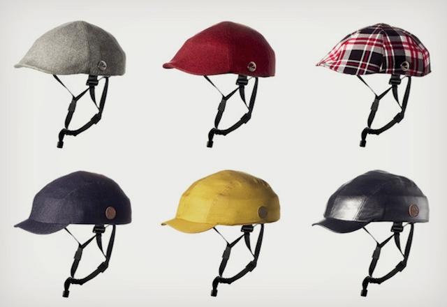 Diversas cubiertas para el casco Closca