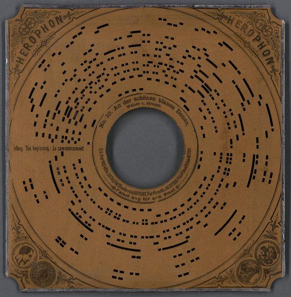 Uno de los discos digitalizados en el proyecto