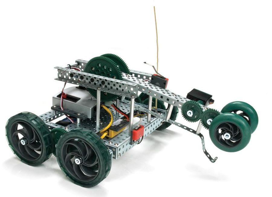 Además de humanos y animales, algunos modelos están basados en vehículos. Foto: http://www.vexrobotics.com/