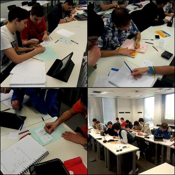 Alumnos de Psicología del Juego, del grado de Diseño de productos interactivos que imparte Carlos González Tardón en la U-tad.