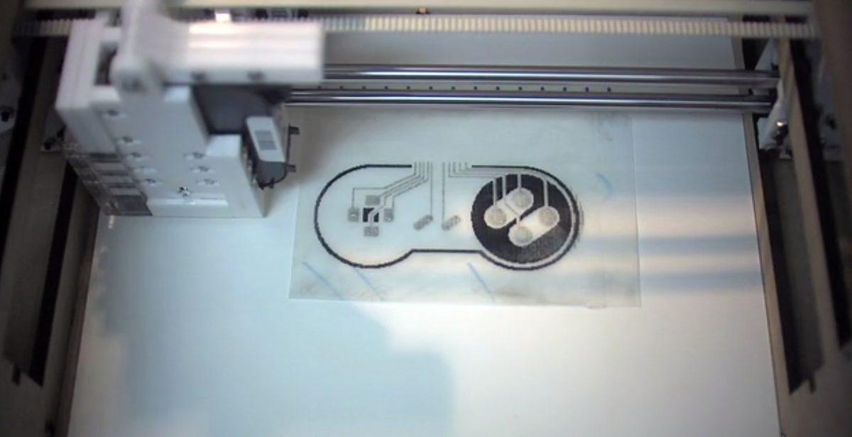 Impresora de circuitos impresos