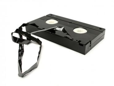 Videocasete roto