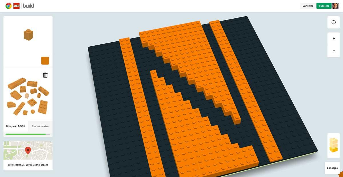 Logotipo de Tek'n'Life con LEGO
