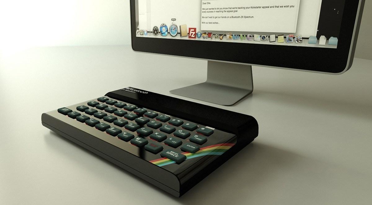 ¡Alucinante!: 30 años más tarde tus manos siguen sobre un teclado de goma.