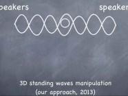 Levitación acústica en tres dimensiones