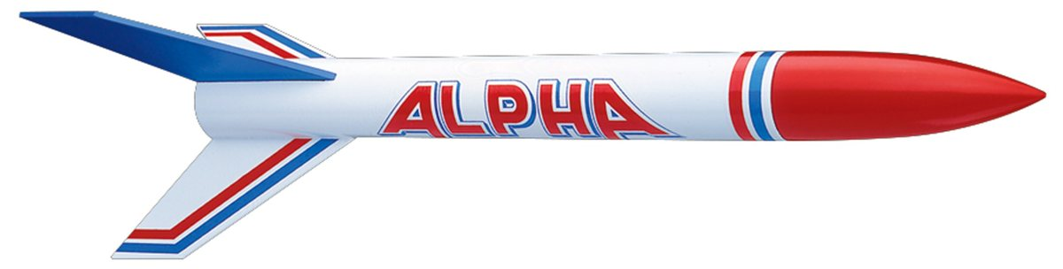 Cohete modelo Alpha rocket (www.estes.com)