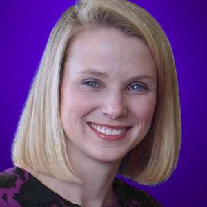 Mayer, ya como CEO de Yahoo!