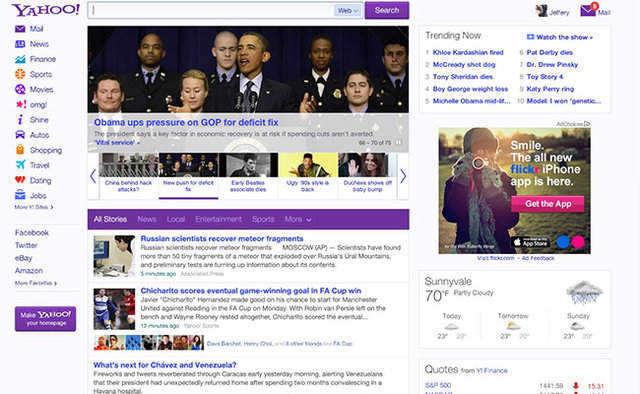 La mayoría de las webs de Yahoo! se han rediseñado a lo largo del pasado año