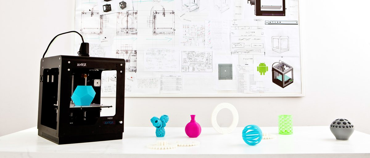 La impresora 3D Zortrax M200 Plug&Print 3D Printer