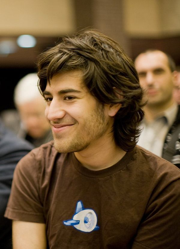 Aaron Schwartz en un evento Creative Commons a finales de 2008.