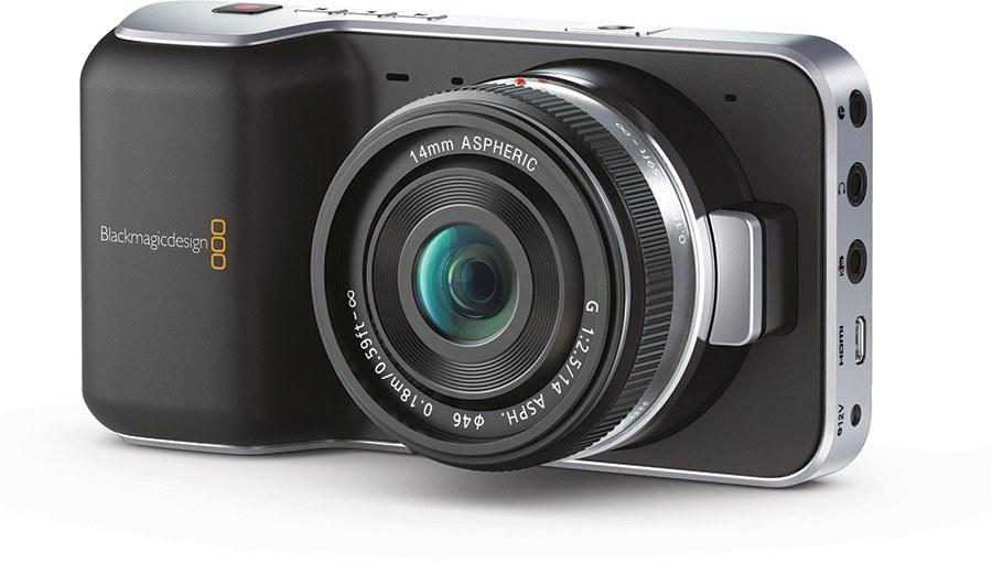 Blackmagic Pocket Cinema Camera, un sistema para grabar vídeo FullHD con el manejo de cámara de cine.