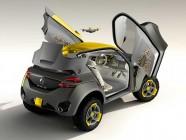 Kwid: coche + drone