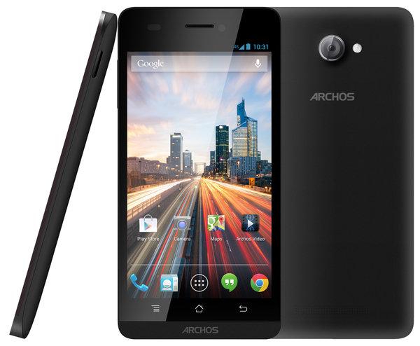 El Archos 50c Oxygen es un smartphone Dual SIM con pantalla de 5 pulgadas