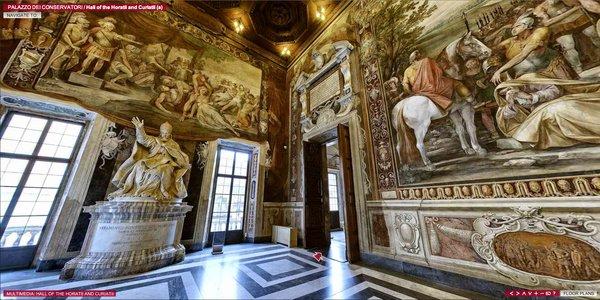 Los Museos Capitolinos de Roma ofrecen una impresionante visita virtual de sus instalaciones y obras de arte