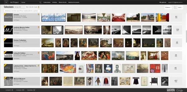 El Art Project del Google Cultural Institute acerca las obras de más de 300 museos e instituciones a los internautas de todo el planeta.