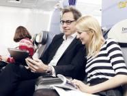 Lufthansa lleva el sistema de ocio del avión a los tablets