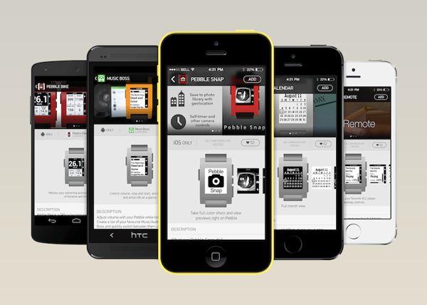 La tienda de apps de Pebble llegará en breve a Android y iOS.