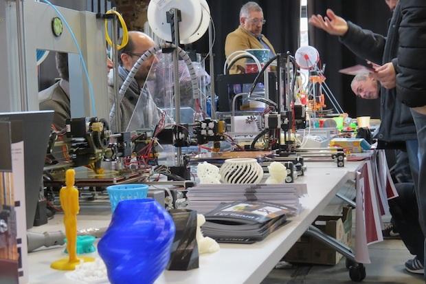 3D Printer Party de León. Marzo 2014.