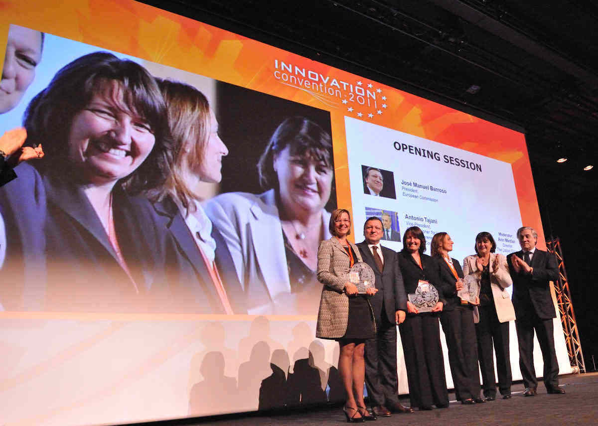 Una española gana el tercer premio de la UE para mujeres innovadoras