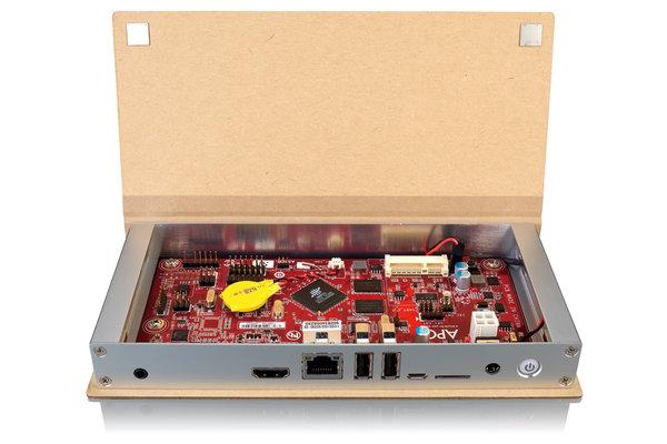 APC Paper, un micro PC con Firefox OS y carcasa de aluminio recubierta de cartón