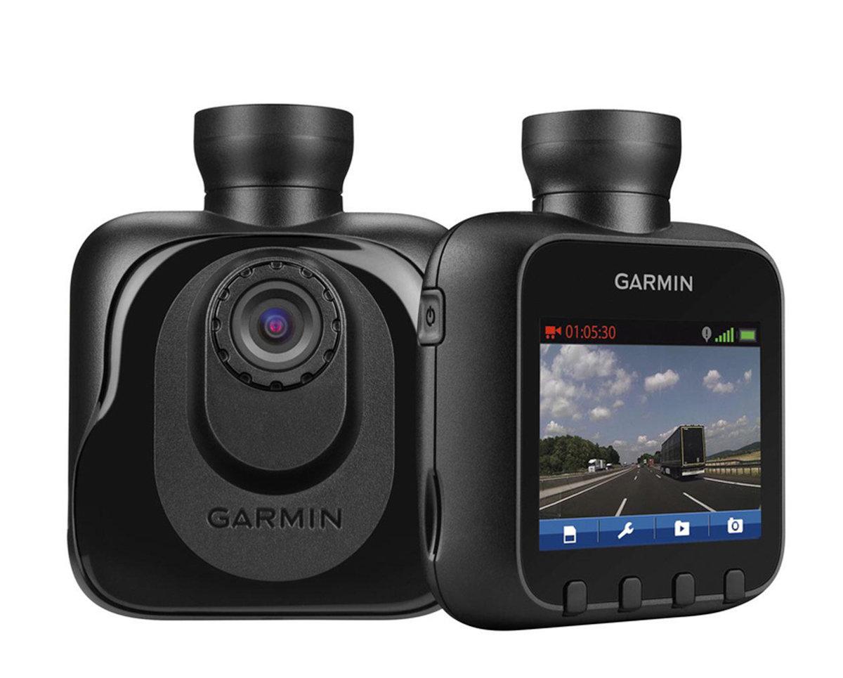 Garmin Dash Cam graba el recorrido mientras conduces