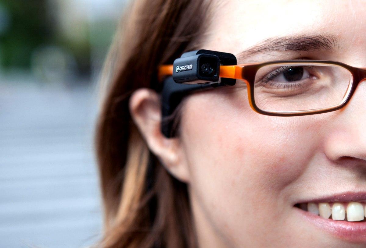 Orcam Gafas Inteligentes Para Personas Invidentes