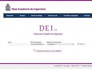 Ya disponible online el Diccionario Español de Ingeniería