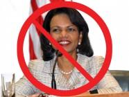 Campaña contra del nombramiento de Condoleezza Rice en Dropbox