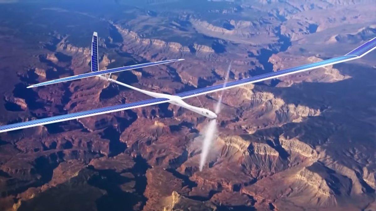 Google probará drones para llevar Internet a zonas remotas