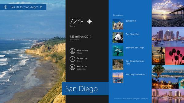 Con Windows 8.1 Update, la búsqueda de elementos es más accesible