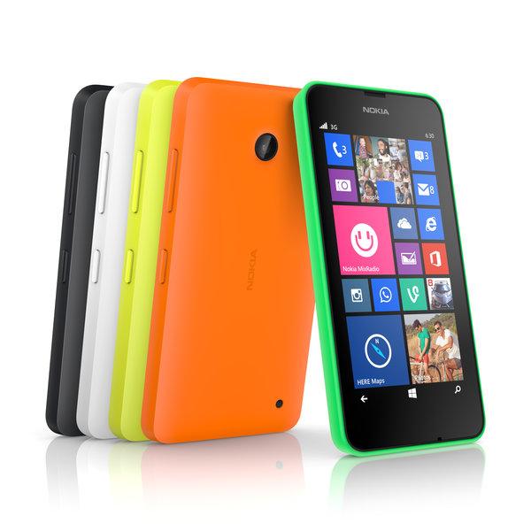 El Nokia Lumia 630 estará disponible en dos versiones: una para una sola SIM, y otra compatible con dos