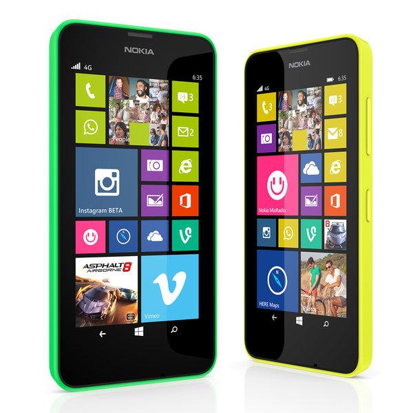 El Nokia Lumia 635 es compatible con redes 4G
