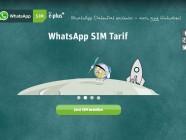 Whatsapp lanza una tarjeta SIM de 10 euros con E-Plus en Alemania
