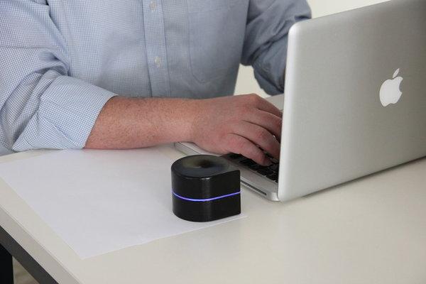 La Mini Mobile Robotic Printer es capaz de imprimir un máximo de 1.000 páginas en blanco y negro con un solo cartucho de tinta