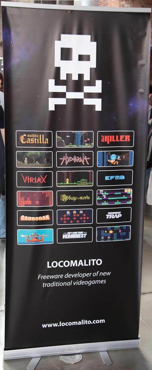 Locomalito es un desarrollador de juegos vintage.