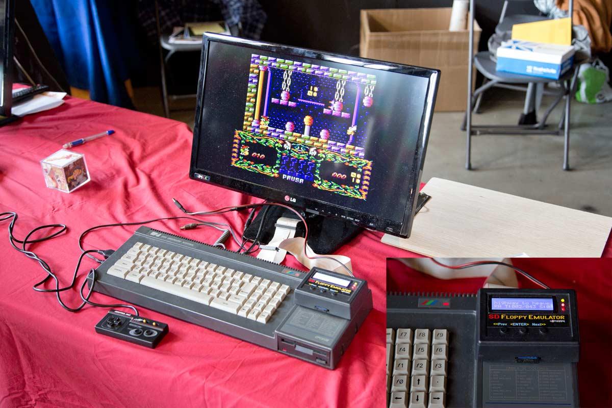 Otra de las máquinas más potentes de la época: el Amstrad CPC6128.