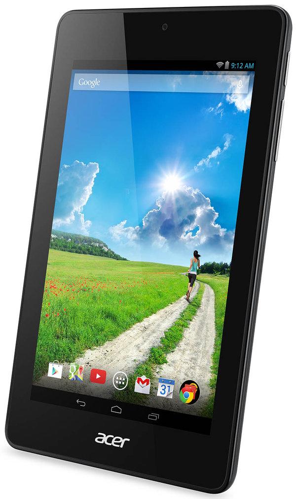 Los nuevos tablets Iconia de Acer tienen pantalla de siete pulgadas y sistema operativo Android