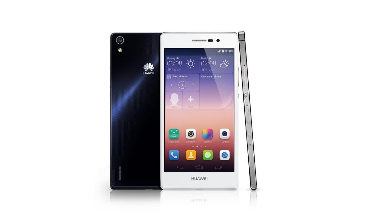 Huawei Ascend P7, con cámara frontal de 8 megapíxeles