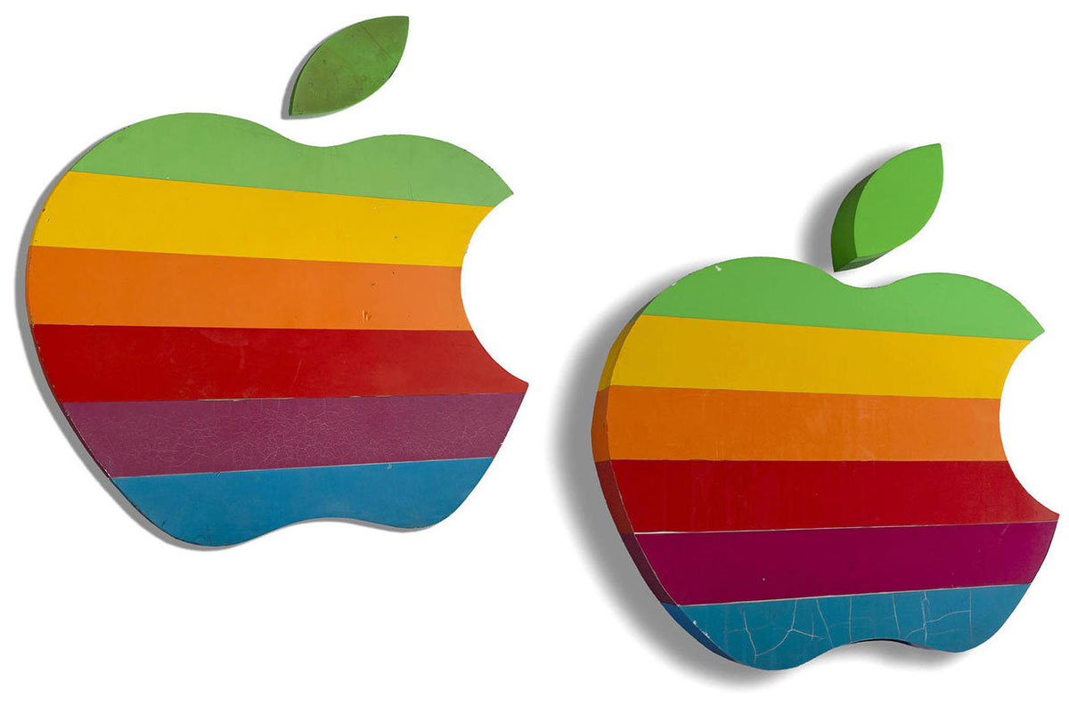 ¿Quieres un logotipo original de Apple?