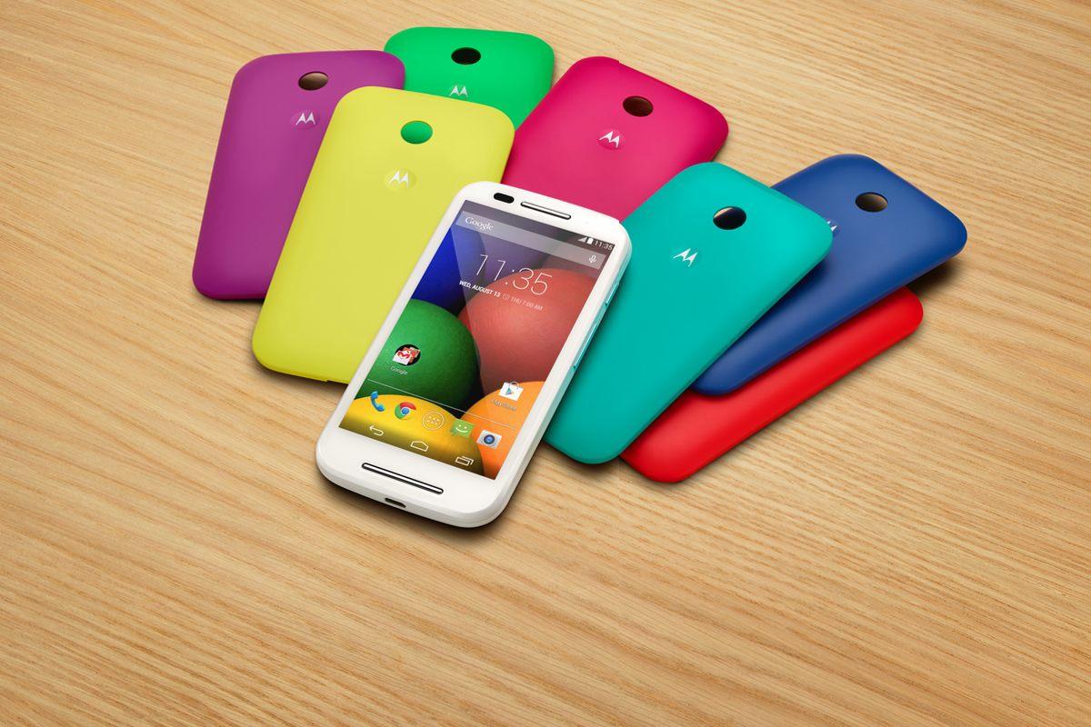 Motorola presenta dos smartphones de entrada: Moto E y G 4G
