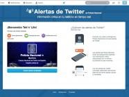 Twitter activa su servicio de alertas en España