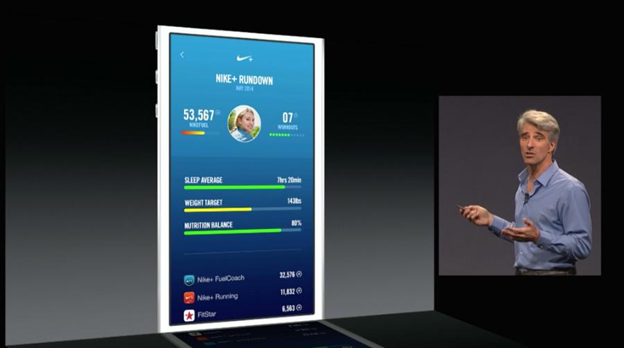 En la presentación del WWDC se insinuó que en breve veremos muchas apps de los principales fabricantes que aprovechen las posibilidades de HealthKit.