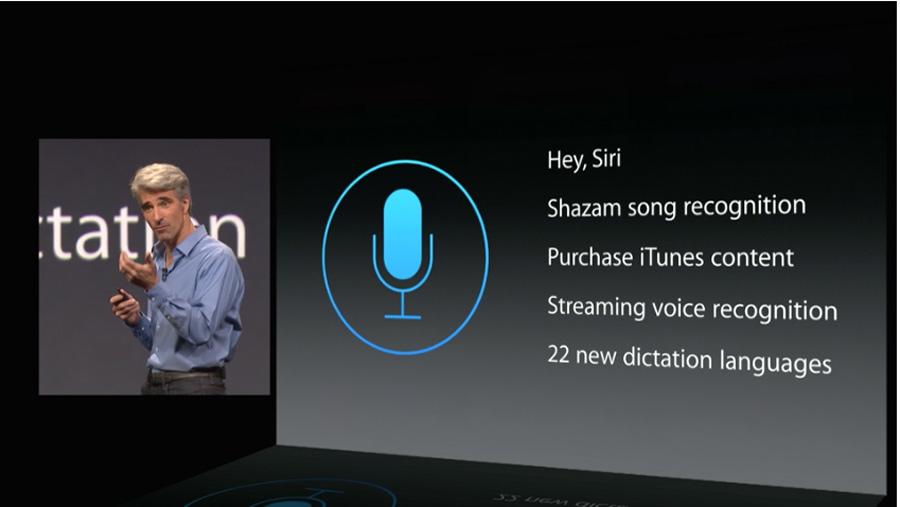 Siri se renueva y ahora tiene más capacidades: reconoce canciones, reconoce voces en streaming y añade 22 idiomas más.