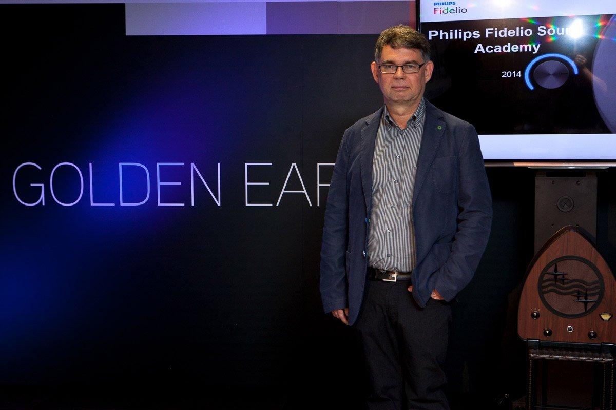 Gerrit de Poortere es el creador y responsable del programa Golden Ears para evaluar equipos de sonido.