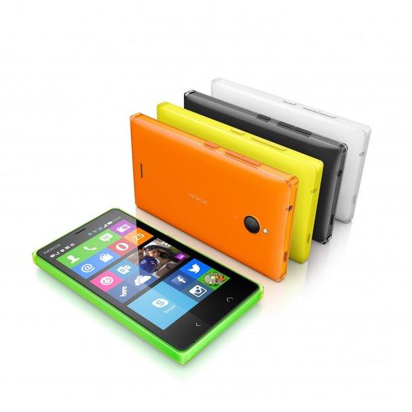 El Nokia X2 estará disponible en varios colores por un precio de 99 euros