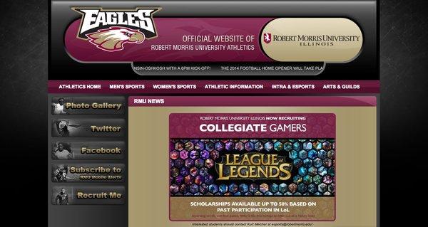 Los jugadores de League of Legend becados competirán en la liga universitaria de jugadores de dicho juego, y podrán optar a un premio adicional de 100.000 dólares para becas