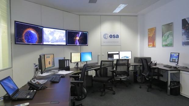 Centro de control de la basura espacial