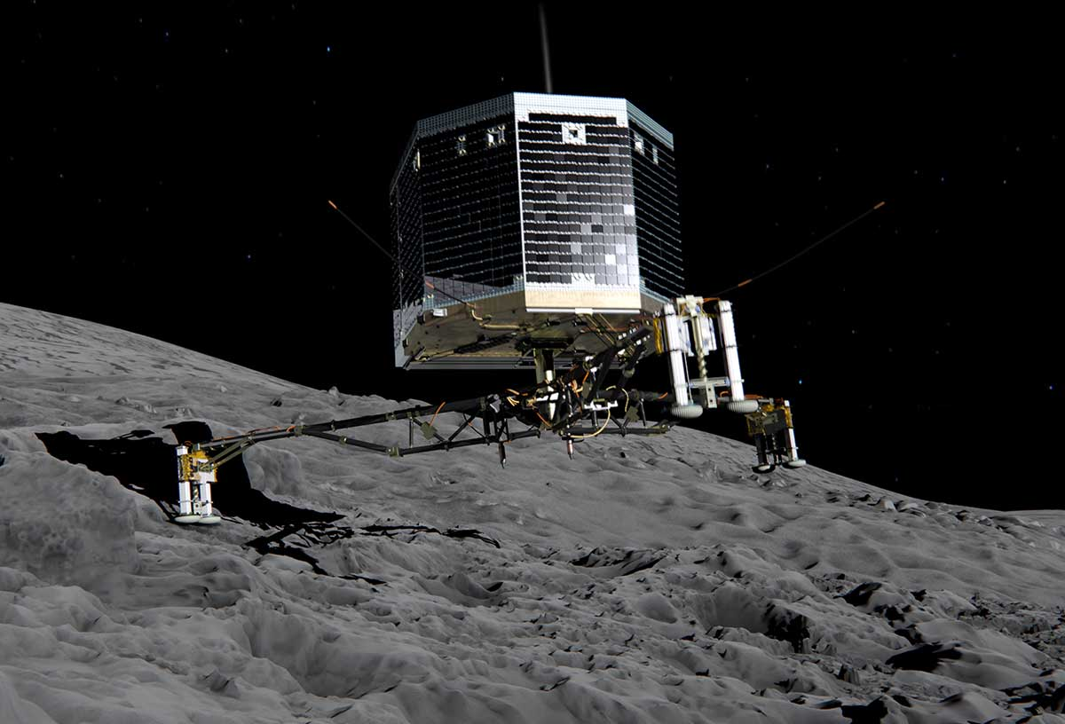 Philae ha despertado