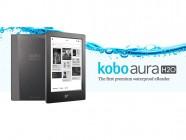 Kobo Aura H2O, un e-reader que puedes mojar
